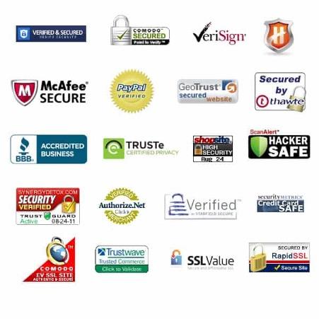 安全电子商务网站的安全徽章